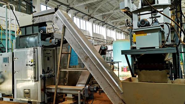 海尔污泥干化处理工程(带式机)-水清木华工程案例
