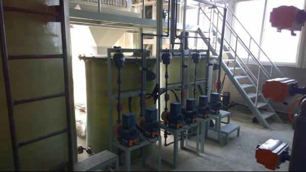 烟台基威特钢线制品有限公司重金属废水处理工程