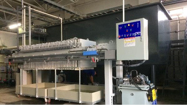 青岛富士工业有限公司研磨废水处理工程改造工程