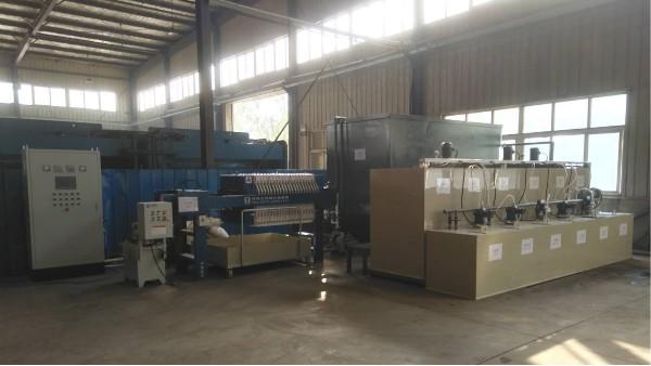 青岛方正机械有机废水处理工程案例——青岛水清木华