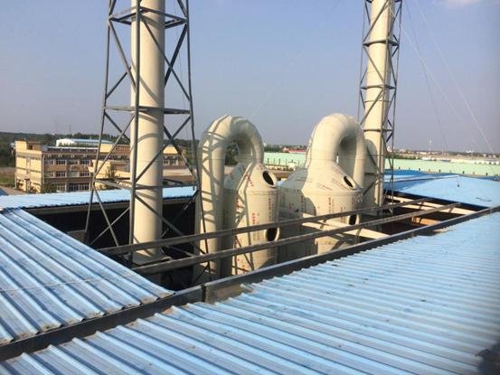 济南界龙科技有限公司废气治理工程-水清木华工程案例